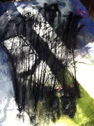 fabulous black glitter halloween sticks diy u2013 spooky gothic