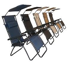 Outdoor Lounge Chair With Canopy Sundale Outdoor Zero Gravity Chair With Canopy Navy Blue Our