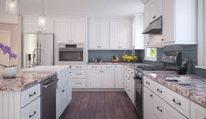 Unfinished Ready To Assemble Kitchen Cabinets Brilliant White Shaker Ready To Assemble Kitchen Cabinets