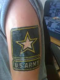 u s army patriotic tattoos on arm