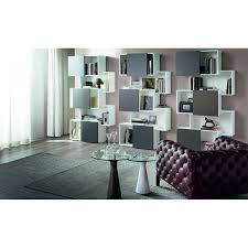 buy piquant bookcase by cattelan italia