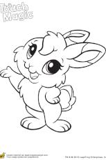 Coloriage bébé lapin