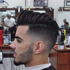 Temp Fade Haircut With Curls Fade Haircut Long On Top Curly Hairs Picture Gallery