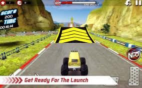 monster truck game video monster truck 4x4 stunt racer android apps on google play