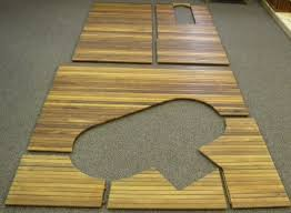 Bar Floor Mats Bathroom Exciting Bathroom Decor Ideas With Cozy Teak Bath Mat