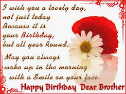 Happy Birthday Wishes To Sms Cute Happy Birthday Quotes Wishes For Brother This Blog About