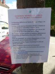 bureau de change cergy pétition contre la fermeture de la poste de cergy cergyrama
