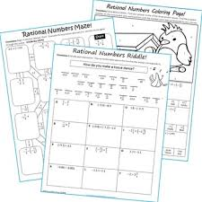 bunch ideas of rational numbers coloring worksheets for example