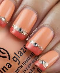 orange nails nail art designs picture pedicure nail design biz