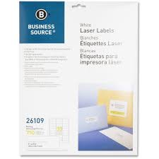 Mailing Label Templates 30 Per Sheet Business Source 26109 1 X2 5 8 Address Laser Labels Permanent