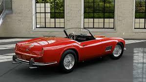 ferrari california 1961 forza motorsport 5 1957 ferrari 250 california youtube