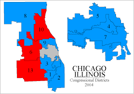 chicago voting map rangevoting org gerrymandering and a cure shortest splitline