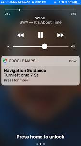 Map Directions Google Google Maps For Ios Updated With Lock Screen Directions Widget