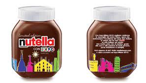 bicchieri della nutella per expo 2015 nutella celebra i monumenti d italia con un vasetto