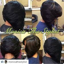 wigs medium length feathered hairstyles 2015 feathered bob monicathestylist hair pinterest feathered