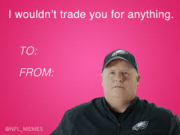 Cards Meme - this year s batch of nfl themed valentines day cards daily snark