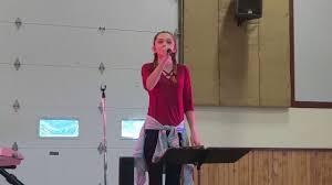 paige davis singing i wanna dance with somebody youtube