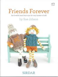 sirdar knitting pattern book 473 friends forever amazon co uk