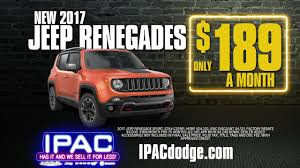 jeep renegade accessories black friday all month jeep renegade 189 mo youtube