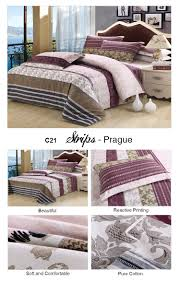 bedding picture more detailed picture about striped purple brown