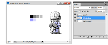 pixel art u0026 adobe photoshop history palette color table and