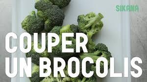 cuisiner brocoli couper un brocoli cuisiner des légumes
