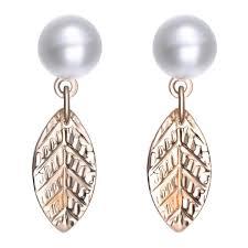 magnetic gold stud earrings amrita sen magnaclasp cosmic pearl gold stud earrings