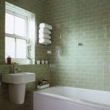 Green Bathroom Ideas by Green Tiled Bathroom With Rolltop Bath Bathroom Decorating