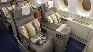 siege business air lufthansa business class a380