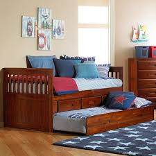 twin bed with storage drawers wayfair