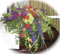 casket flowers cascading casket spray in northport ny fashions in flowers