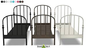 ikea lillesand bed the sims 4 cc pinterest sims sims cc and