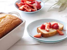 ricotta orange pound cake with strawberries recipe giada de