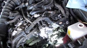 how too lexus gs 350 water pump pt 3 youtube