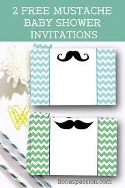 mustache baby shower free mustache baby shower invitations ilona s