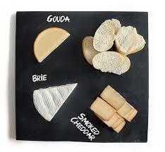 chalkboard cheese plate diy slate cheese board