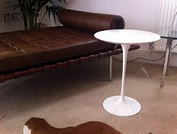 Tulip Side Table by Saarinen Tulip Dining Coffee And Side Tables