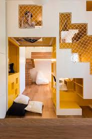 Small Room by Amazingly Modular Small Family Apartment With Lots Of Playful Spaces