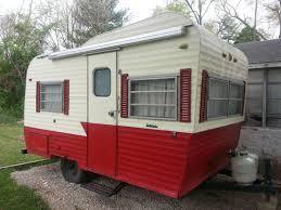 vintage camper retro camper antique camper 1960s camper 1970s