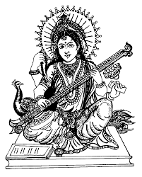 to print this free coloring page coloring india saraswati 4