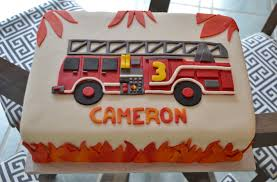 firetruck cakes firetruck cake iii