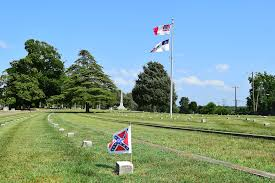 The Bonnie Blue Flag The Confederate Flags Of Oakwood Cemetery Church Hill People U0027s