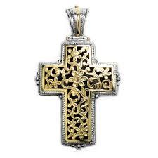 gold byzantine cross necklace images Gerochristo 5247 solid 18k gold sterling silver byzantine jpg
