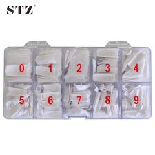 online buy wholesale white half size nail tips from china white