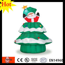 holiday time christmas lights 4m 13ft new year 2017 inflatable the snowing christmas tree holiday