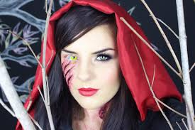 little dead riding hood makeup tutorial youtube