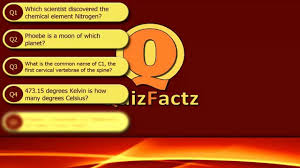 science quiz 1 youtube