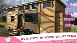 Tiny Home Builders Oregon The Mio By Covo Tiny Houses Portland Oregon Tiny House Design