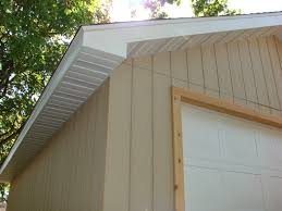 decoration cool shed with board siding and door trim also soffit