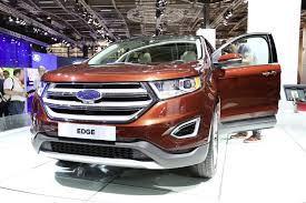 Ford Edge 2006 New Ford Edge Debuts In Paris With A Pair Of Diesel Engines